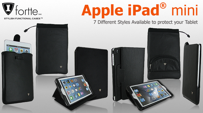 Apple iPad mini Leather Cases