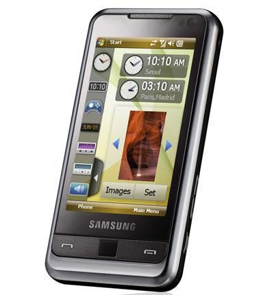 Leather Case for Samsung Omnia SGH-i900