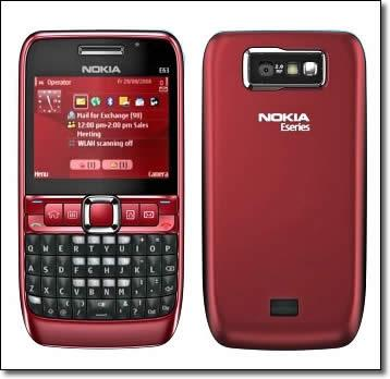 Leather Case for Nokia E63