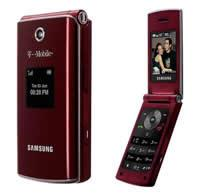 Leather Case for Samsung SGH-T339